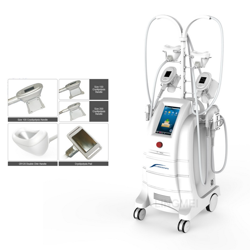 LINGMEI ETG50-5S Popular cool pads double chin removal body slimming cryolipolysis machine price